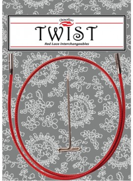 Cable ChiaoGoo Twist Red S